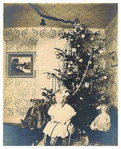 Victorian Christmas Photograph