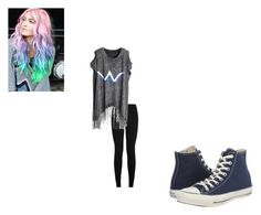 """""""Untitled #150"""" by morgan-kitty-henley on Polyvore featuring Converse"""