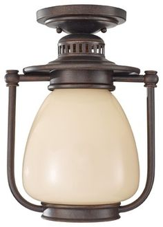 Murray Feiss Mc Coy Transitional Outdoor Flush Mount Ceiling Light X-ZBG3139LO transitional-outdoor-lighting