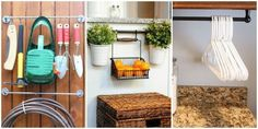 9 Clever Ways to Organize With a Towel Bar  - CountryLiving.com
