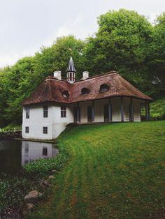 liselund slot, Denmark.