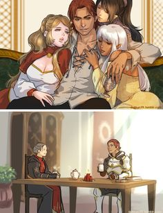 Sebastian Vael before joining the chantry and after
