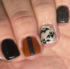 Gel Nail Art Designs, Nails Design, Halloween Nail Designs, Halloween Nails, Fall Nails, Holiday Nails, Cuticle Care, Pretty Hands, Cosmetology