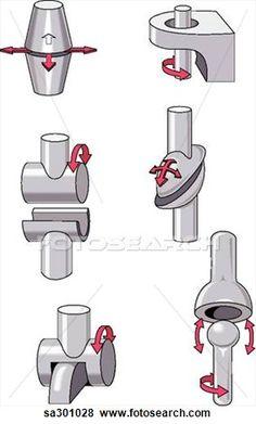 different types of mechanical joints Mechanical Design, Mechanical Engineering, Robot Arm, Robot Design, 3d Prints, Stop Motion, Industrial Design, Concept Art, Science