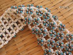Dora beads: Frozen flowers