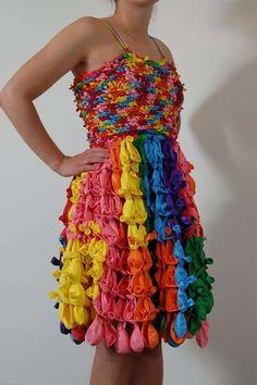 Plastic Bag Prom Dresses : Casey Hansel