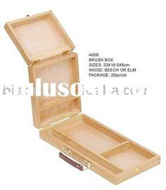 Sketch box,art painting tool box,art wooden box,wooden case,Wood storage box