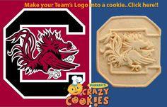 South Carolina Gamecock Cookies - Custom - Tailgate - School Spirit - Favors