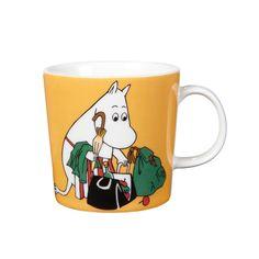 Moomin Mug - Moominmamma, Apricot NEW for 2014 front