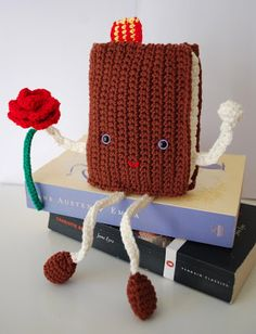 Crafteando, that is gerund: Pattern: book and rose Sant Jordi.  FREE PATTERN 9/14.