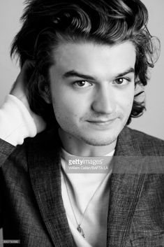 Actor Joe Keery from Netflix's 'Stranger Things' poses for a portrait BBC America BAFTA Los Angeles TV Tea Party 2017 at the The Beverly Hilton Hotel on September 16, 2017 in West Hollywood, California.