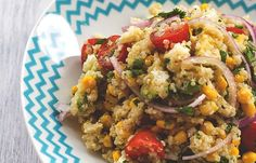 Wir wollen Quinoa! Warum? Weil's super schmeckt und Quinoa-Rezepte mega gesund sind!