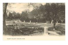 Sleepy Hollow Cemetery -- Concord MA
