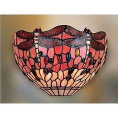 Shop for Tiffany-style Dragonfly Wall Lamp. Get free shipping at Overstock.com - Your Online Home Decor Outlet Store! Get 5% in rewards with Club O!