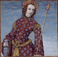 LXX-Sophonisbe, reine de Numidie (SOPHONISBA, queen of Numidia) -- Giovanni Boccaccio (1313-1375), Le Livre des cleres et nobles femmes, v. 1488-1496, Cognac (France), traducteur anonyme. -- Illustrations painted by Robinet Testard -- BnF Français 599 fol. 60v