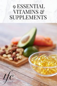 9 Essential Vitamins & Supplements | Health and Wellness Tips |