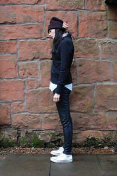 Surgery Chic: Part One Sweet Days, Sweetest Day, Surgery, Converse, Winter Jackets, Normcore, Street Style, Woman, Chic