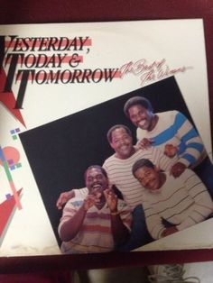 THE BEST OF THE WINANS-YESTERDAY TODAY AND TOMORROW 33 RPM ALBUM VINTAGE, RARE