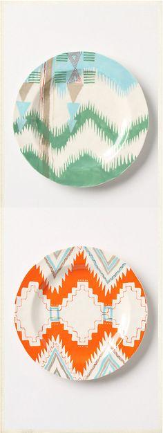 Pattern Plates via Anthro