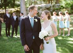 Elizabeth & George   Sarah Der Photography   MIT Endicott House   The Icing on the Cake   Make Me Up Bridal   Nicole Miller Wedding Gown   Anna Elyse Bridesmaids Dress   Flowers by Blooms of Hope