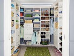 Decoração de Closets Pequenos