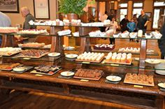 Sunday Brunch at the College of the Ozark's is best brunch I have ever had. My favorite restaurants EVER. President Bush has ate at Keeter Center too. Branson Missouri, Our Daily Bread, Sunday Brunch, Vacation Ideas, How To Memorize Things, Explore, Eat, Places, Desserts