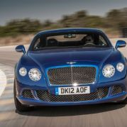 Bentley Continental GT Speed Coupe Front View