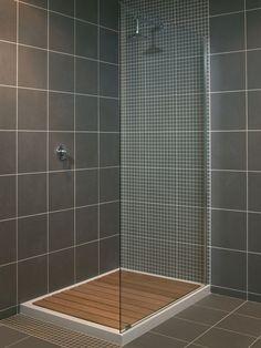 Mizu Showers Walk-In Wetroom Shower System - The Mizu shower range captures the essence of minimalist design - linear, clean, stark.