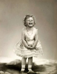 Princess Elizabeth of York, aged three.  You may recognize the smile:  she is now HM Queen Elizabeth II.
