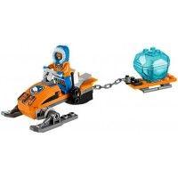 The Lego City Arctic Snowmobile