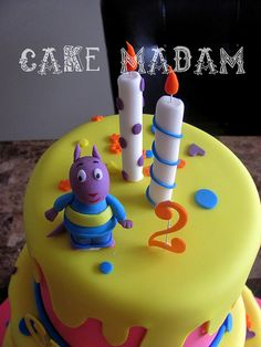 Backyardigans cake   Flickr - Photo Sharing!