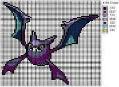 Crochet Fanatic: Pokemon 165-178: Ledyba, Ledian, Spinarak, Ariados, Crobat, Chinchou, Lanturn, Pichu, Cleffa, Igglybuff, Togepi, Togetic, Natu, & Xatu