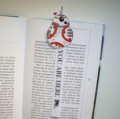 Kylo Ren BB8 Rey Finn Poe bookmarks set Star Wars by BigNerdWolf