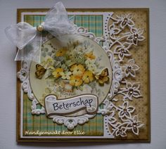 Card Made By Dt Member Jolanda With Creatables Anja S