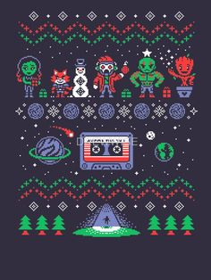 HOLIDAY GUARDIANS T-Shirt - Guardians of the Galaxy T-Shirt is $12 today at Once Upon a Tee!