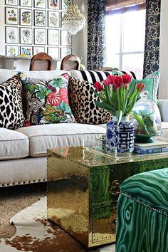 leopard and malachite