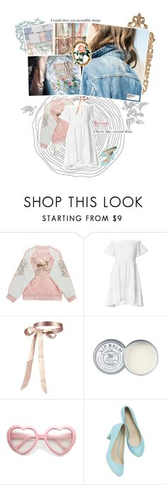 """""""{ Sunny Skies + the botanical tag }"""" by kjvlulu ❤ liked on Polyvore featuring Urban Outfitters, Chicnova Fashion, TIBI, Jack Wills and vintage"""