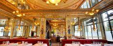 Le Grand Véfour - Gastronomical restaurant in the heart of Paris, by Guy Martin Restaurants Gastronomiques, Best Restaurants In Paris, Guy Martin, Restaurant Design, Restaurant Bar, Paris In September, Palais Royal, Travel Memories, Paris Travel