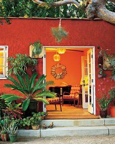 decoración vintage para tu casa · vintage home decor: Un jardín de ensueño [] A fantastic garden
