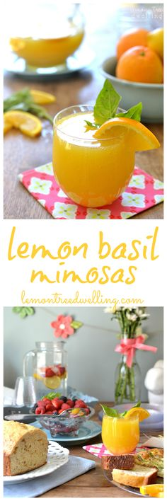 Lemon Basil Mimosas and Mommy Time with Chinet® Cut Crystal® Tableware – PLUS Giveaway!  #ad #bh