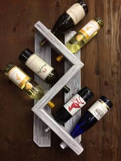 Vino rack-parete portabottiglie vino rack-rustico