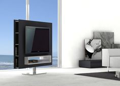 BRAGA ROTATING TV STAND SWIVEL BASE  AVAILABLE AT DECORIUM.US