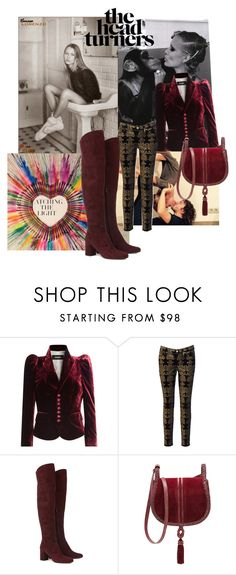 """""""Untitled #127"""" by maitenara ❤ liked on Polyvore featuring Dsquared2, 7 For All Mankind, Yves Saint Laurent and Steven by Steve Madden"""