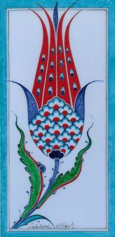Mehmet Koçer Pottery Patterns, Tile Patterns, Pattern Art, Turkish Design, Turkish Art, Turkish Tiles, Doodle Designs, Illustrator, Tile Art