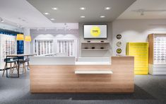 retail, counter, Binder Optik optician by DIA – Dittel Architekten