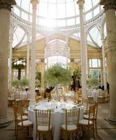 Conservatory wedding venue