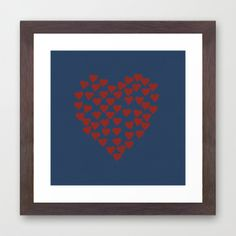 #hearts #heart #love #red #navy #projectm