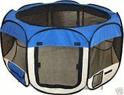 Pet Travel, Indoor or Outdoor Play Pen / Tent *Blue* *Medium* ** Be sure to check out this awesome product.
