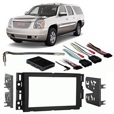 28 best denali images on pinterest yukon denali chevrolet fits gmc yukonyukon xl 2007 2013 double din harness radio install dash kit fandeluxe Images