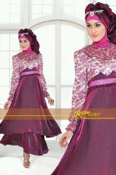 Gamis Pesta Jasmine Turkis Yang Trendy Look It Here Http